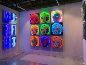 Наши работы на выставке современного искусства ART RUSSIA