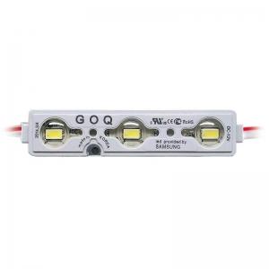 Модуль светодиодный GOQ Samsung 5630 PREMIUM линза 150 гр. 3Led 03WS-L