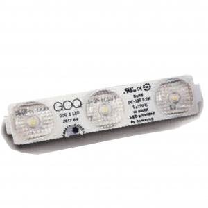 Модуль светодиодный GOQ Samsung 2835 SPECTRUM линза 170 гр. 3Led 03WS-SG1