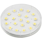 Светодиодная лампа патрон GX53 LED GX53 Белый теплый
