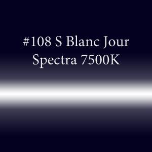 Неоновая трубка с люминофором #108 S Blanc Jour Spectra 7500K  TL 15мм