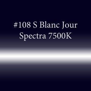 Неоновая трубка с люминофором #108 S Blanc Jour Spectra 7500K  TL 18мм