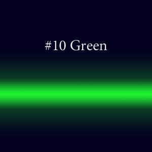 Трубка неон с люминофором  #10 Green TL 10мм