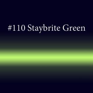 Купить трубочки неоновые или светящиеся  с люминофором  #110 Staybrite Green TL 18мм