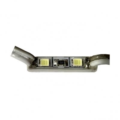Светодиодный модуль мини 2 диода 5050 0,36Вт, 12В, белый