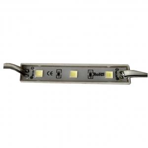 Светодиодный модуль PRC BVD 3 диода 5050 0,72Вт, 12В, белый 6000К