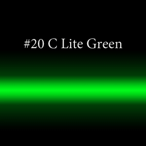 Неоновая трубка цветная #20 Lite Green TL 18мм