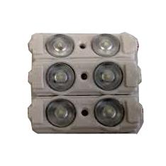 Светодиодный модуль AERO-2W 2 диода 2835 линза 1Вт, 12В, белый 6500К