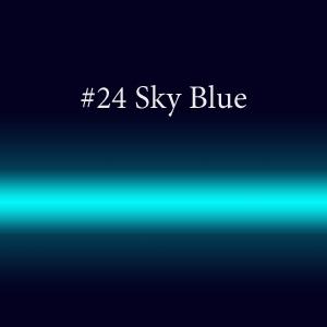 Элементы светящейся вывески с люминофором #24 Sky Blue TL 10мм