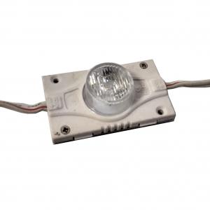 Светодиодный модуль торцевой 1 диод линза EDGE-220 3Вт, 12В, белый