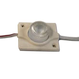 Светодиодные модули 3030 с линзой 1,3Вт, 12В, белый