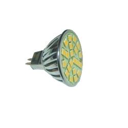 Светодиодная лампа патрон GU5.3 LED MR16 3.6W Белый теплый