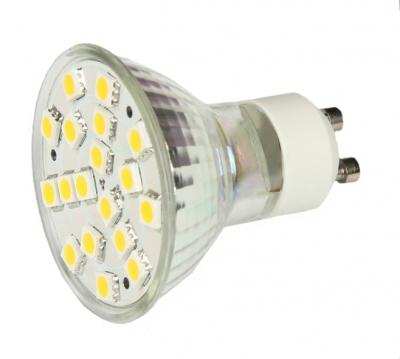Светодиодная лампа GU5.3 LED MR16 3.6W Белый теплый