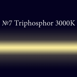 Неоновая трубка с люминофором #7 Triphosphor 3000K TL 12мм