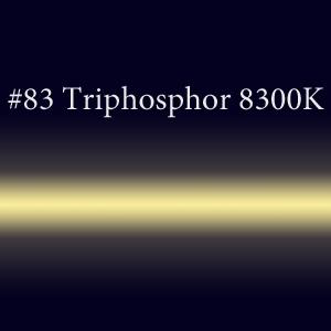 Неоновая трубка с люминофором #83ST Trip 8300K TL 15мм