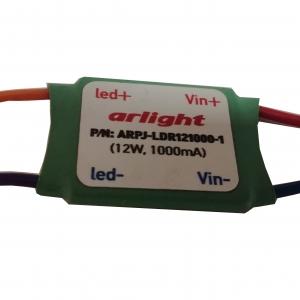 Светодиодный драйвер ARPJ-LDR121000 12W, 1000mA, IP20