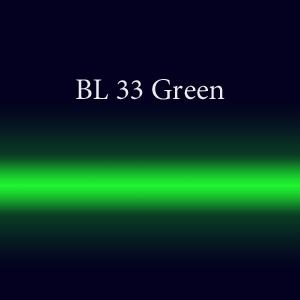 Трубка неоновая с люминофором BL 33 Green FMS 18мм
