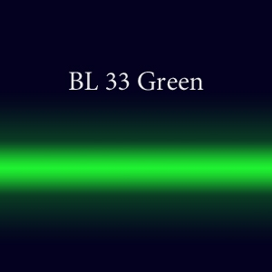 Трубка неоновая с люминофором BL 33 Green FMS 15мм