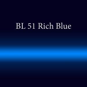 Трубка неоновая с люминофором BL51 Rich Blue FMS 18мм
