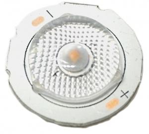 Светодиод Samsung SMD 3030 на радиаторе под линзу