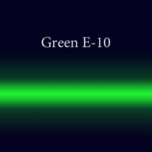 Трубки неоновые с люминофором  Green E-10 EGL 15мм