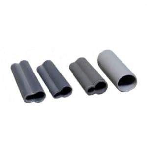 Изоляторы силиконовые Серые Закрытые 12 мм
