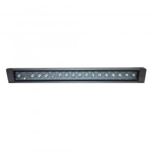 Светодиодный линейный прожектор Wall wash 18LED, 18Вт, IP65, холодный белый, 610 мм
