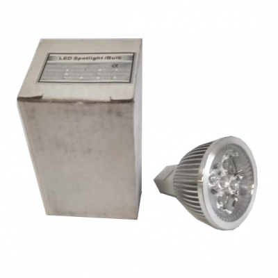 Светодиодная лампа Spotlight MR16 4x1W белый 3000К