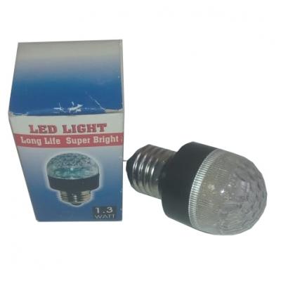 Светодиодная лампа Led Light E27 1,3W, зеленый, красный, синий, желтый