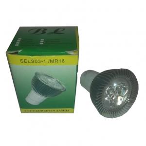 Светильник потолочный BOLUN SELS, 3x1W, MR16, белый 2700, 6000К