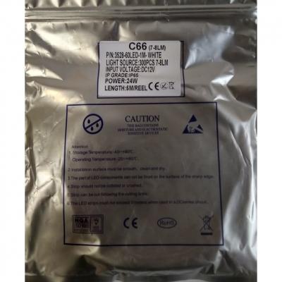 Светодиодная герметичная лента ICL 360LED 3528 12В 4Вт/м, белая 6000К