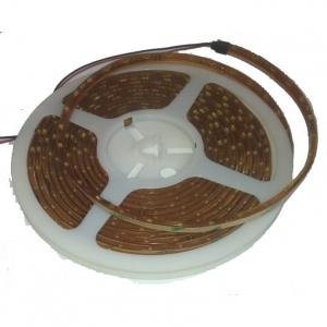 Светодиодная герметичная лента бокового свечения 300LED 3510 12В 4,8Вт/м, синяя