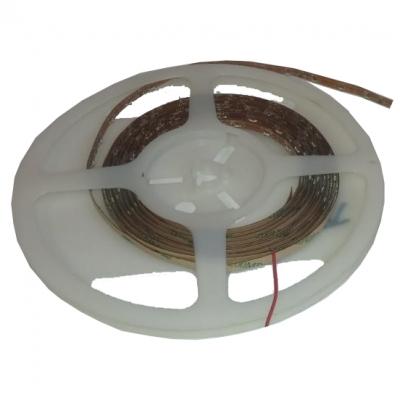 Светодиодная герметичная лента бокового свечения 300LED 3510 12В 4,8Вт/м, красная
