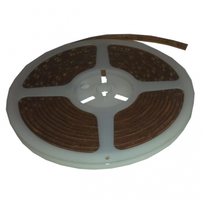 Светодиодная герметичная лента бокового свечения 300LED 3510 12В 4,8Вт/м, белая 6000К