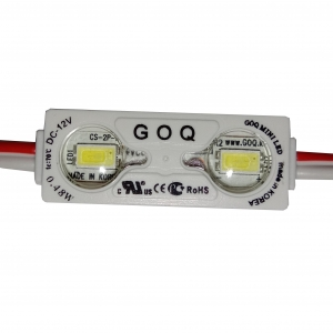 Модуль светодиодный GOQ Samsung 5630 MINI линза 150 гр. 2Led 02WS-LM1