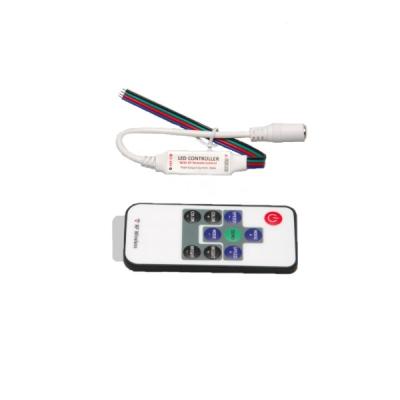 Контроллер для светодиодов 3-х канальный RF пульт 10кн