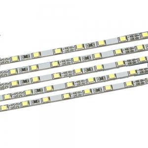 Светодиодная жёсткая линейка L1000-120/12-4T для световых панелей