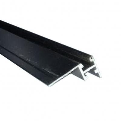 Профиль для световых панелей Магнетик 22 мм Черный