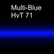Неоновая трубка цветная MULTI-Blue  HvT 71 15 мм
