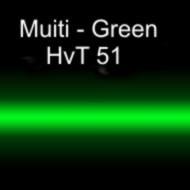 Неоновая трубка цветная MULTI - Green  HvT 51 12 мм