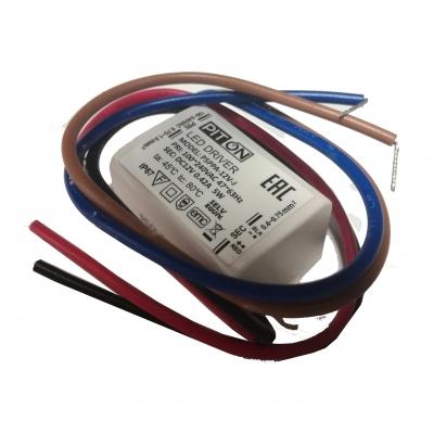 Светодиодный драйвер PITON 5Вт, 420мА, IP20