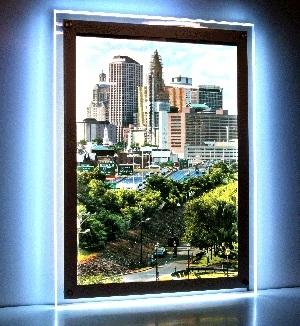 Световая панель framelight Crystal light 2AA RGB