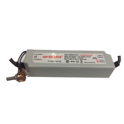 Светодиодный драйвер Arlight ARPJ-DIM361750-R 63W, 1750mA, диммируемый 0-10V с регулятором, PFC, IP20