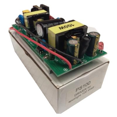 Светодиодный драйвер без корпуса PS100 DRIVER FOR SPOTLIGHT 100W, IP20