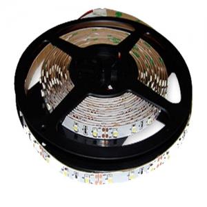 Светодиодная гибкая лента на самоклеющейся основе 300 диодов на метр 3528 12В Белый холодный