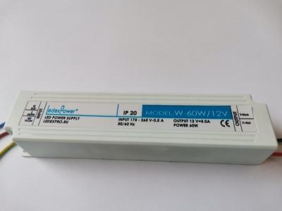 Блок питания 12v,60w.   IP20