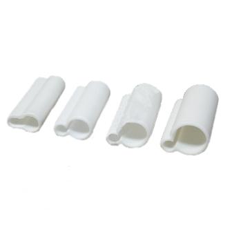 Изоляторы силиконовые Белые Закрытые 13мм