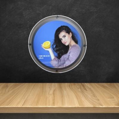 Световые круглые панели Crystal 60 см