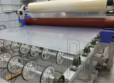 Акриловое стекло LedexLight IND для торцевой подсветки 580(+/-20)х280(+/-20)х3 мм