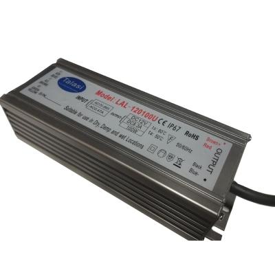 Блок питания герметичный 12В 100Вт IP67 TALASI